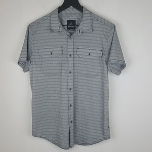 Prana button down casual short sleeve size small
